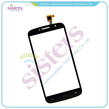 5pcs Wholesale High Quality Touch Screen Digitizer For Alcatel One Touch Fierce 2 POP ICON 7040T OT7040t Free Shipping
