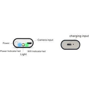 Image 5 - WIFI endoskop kamera Mini IP67 wodoodporny miękki kabel kamera inspekcyjna 8mm endoskop USB boroskop IOS endoskop dla iPhone