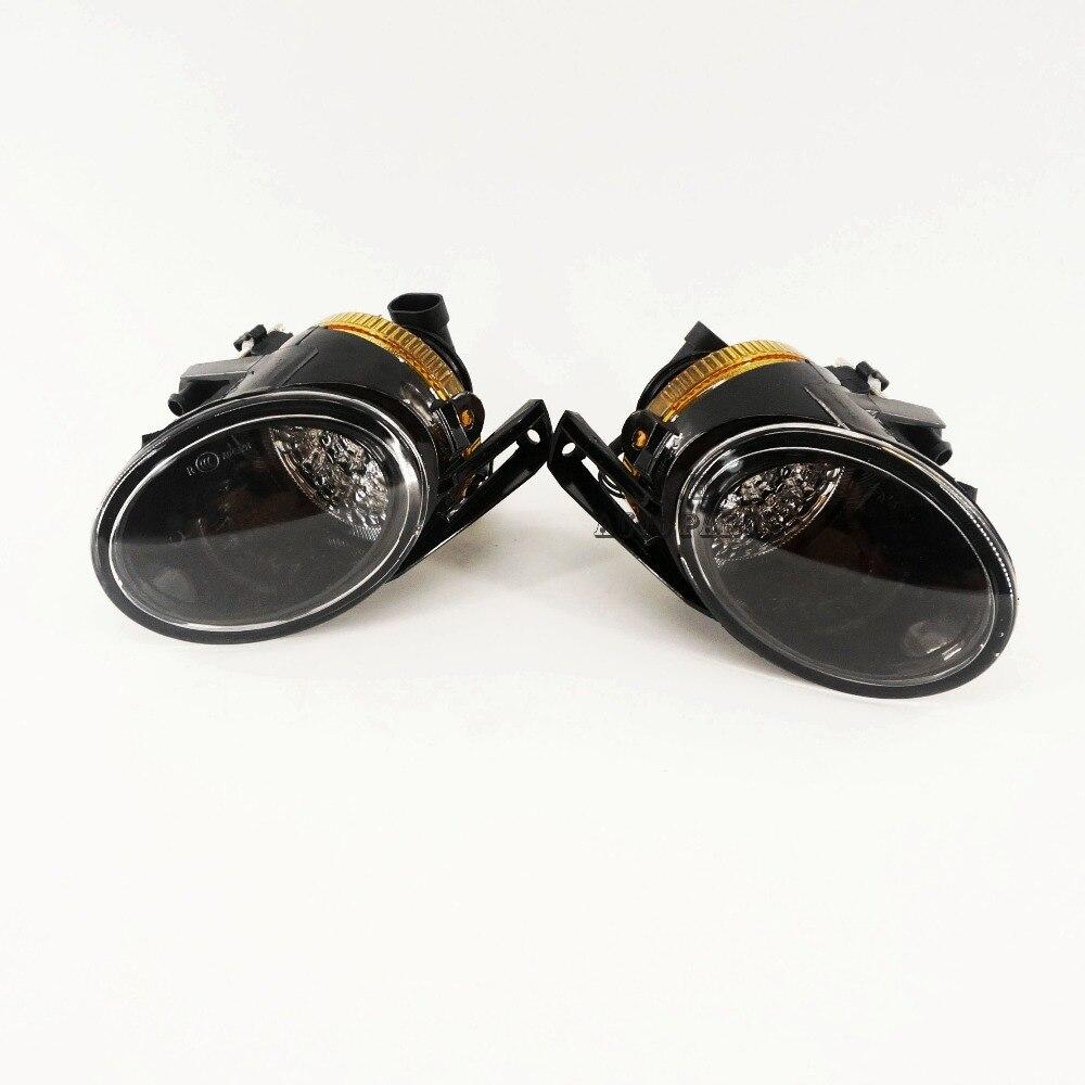 OEM Pair Of Front Clean LED Fog Lights Fog Lamps 3C0 941 699 A 3C0 941 700 A Fit VW Passat B6 3C2 3C5 2006-2011 NEW 2 pcs front halogen foglamps clear glass lens front fog light driving lamp for volkswagen passat b6 3c 3c0 941 699 3c0 941 700