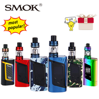 Original 220W SMOK Alien Vape Kit With Smok TFV8 Baby Tank 3ml Atomizer Box Mod E