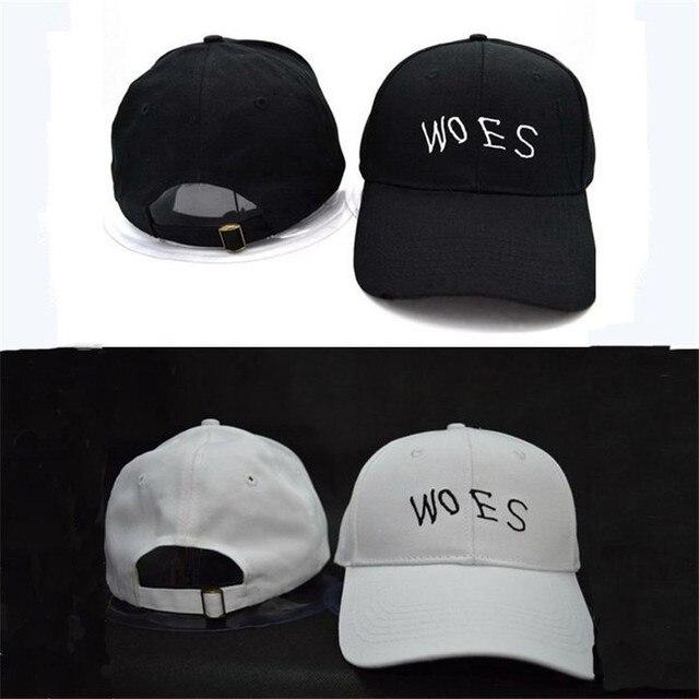 WOES Snapback Baseball Cap Unisex Adjustable Embroidery Golf Metal Buckle  Sports Gorras Bone Hats Caps Men Women Free Shipping ad4d8a4e1a2