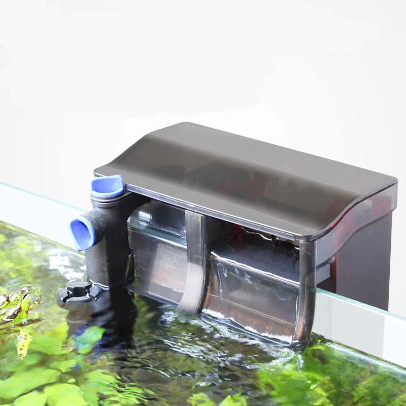Sunsun Grech Hang Di Belakang Akuarium Air Terjun Filter