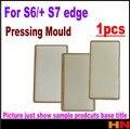 1 unids para samsung galaxy s6 plus s7 edge nota4 borde Pantalla LCD Lente de Cristal Laminado De Aluminio Molde G9250 Molde De Metal titular