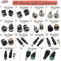 JCD DC Power Jack Buchse Stecker 5.5*2,1 MM 5,5x2,1 5,5x2,5mm Männlichen/Weiblichen DC-005 DC022 DC022B DC-025M DC099 DC Power