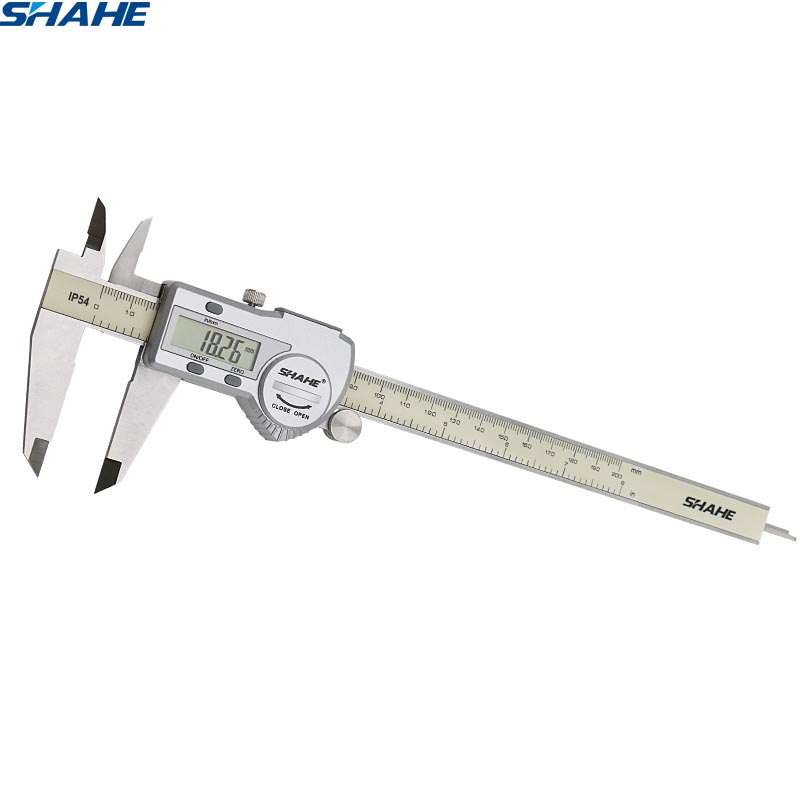 """8/""""-200mm-Digital-LCD-Vernier-Caliper-Micrometer-Hardened-Stainless-Steel"""