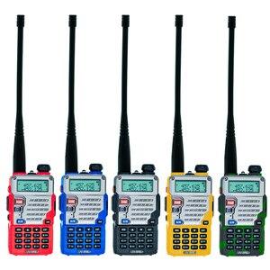 Image 3 - Baofeng UV 5RE Walkie Talkie UHF VHF CB Radio Station 128CH Zwei Weg Radio UV 5R Verbesserte UV 5RE Tragbare Ham Radio für Jagd