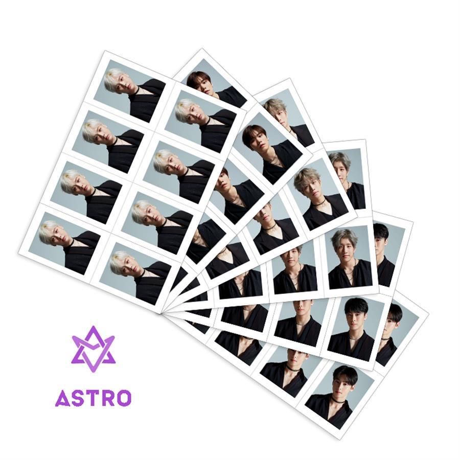 Kpop Astro Members School ID Photo Japan Venus Collective Cards Rocky MJ Uniform Photocard 1 Sheet