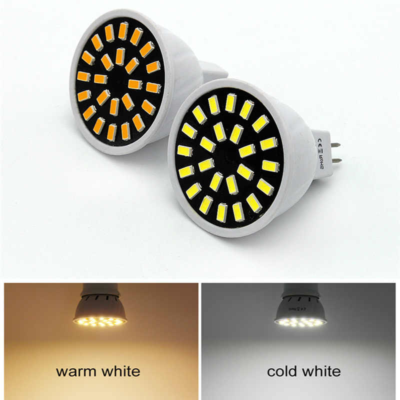 1-10Pcs MR11 Led Spotlight Bulb 220V Led Lamp 5W 7W 20leds 30Leds 2835 SMD Energy Saving Bombillas Lampada for Home Lighting