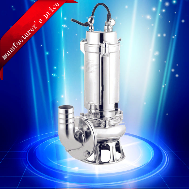 WQP QWP Stainless Steel Submersible Sewage Pump 4 inch high flow rate industrial pump mb barbell mbevkl 20кг