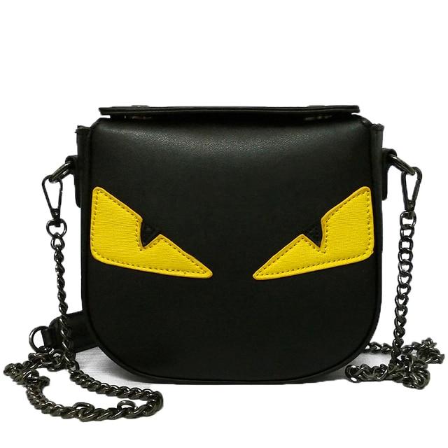 2017 Eye Monster Bag Women Messenger Bags Handbags Women Famous Brands Designer Small Women Bag Shoulder Crossbody Bags bolsos