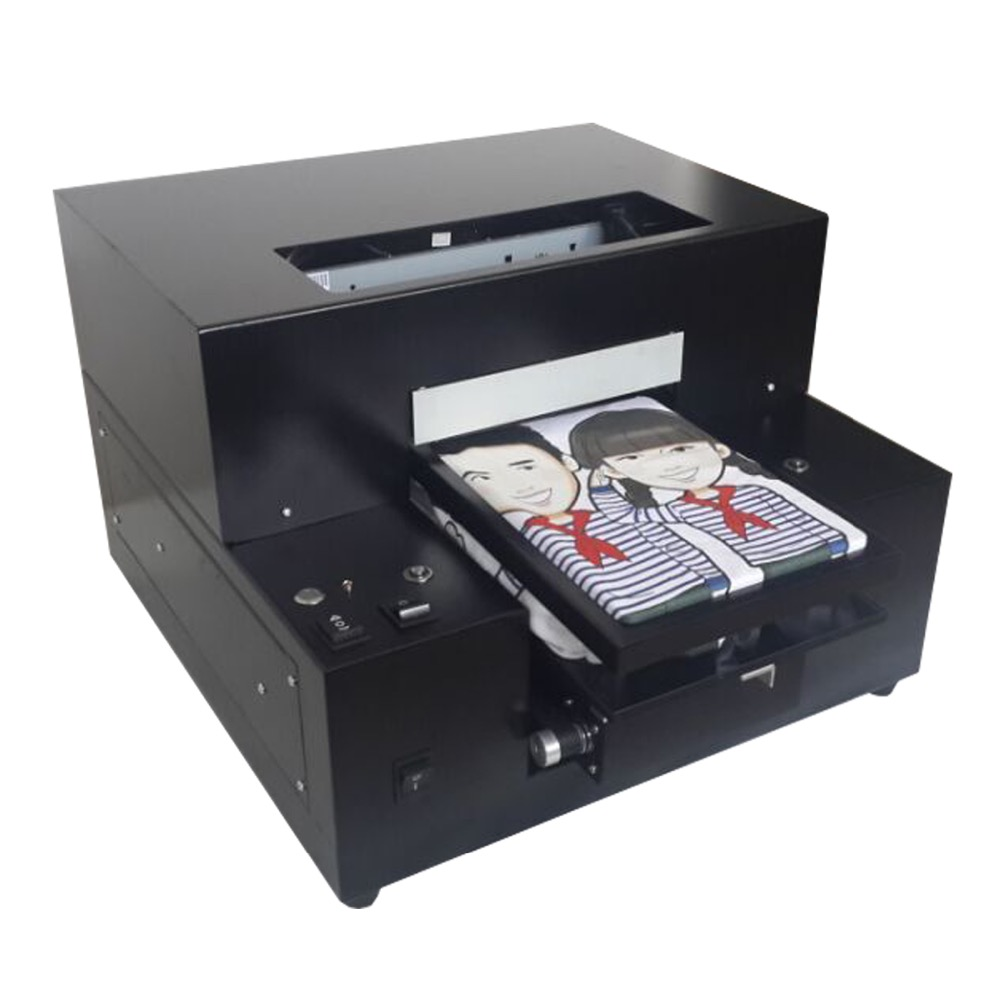 A4 Size 6 Color DTG T-Shirt Printer Textile Printer T Shirt Printing Machine Direct To Garment Printer