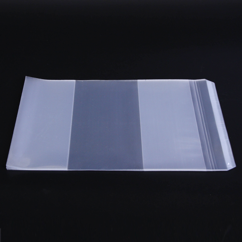 1Pack 10Sheets Transparent Clear Books Covers + Name Label A4 468x306mm School Book Students Gradebook Protect Book Film 70557