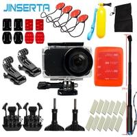 JINSERTA For Xiaomi Mijia Mini Action Camera Accessories Set Waterproof Case Frame Silicone Cover Bag Anti
