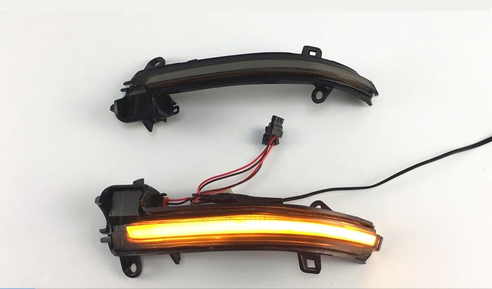 LED Dynamic Indicator Blinker Mirror For BMW 1 2 3 4 Series X1 E84 F20 F21 F22 F23 F30 F31 F34 F32 i3 Rearview Turn Signal Light