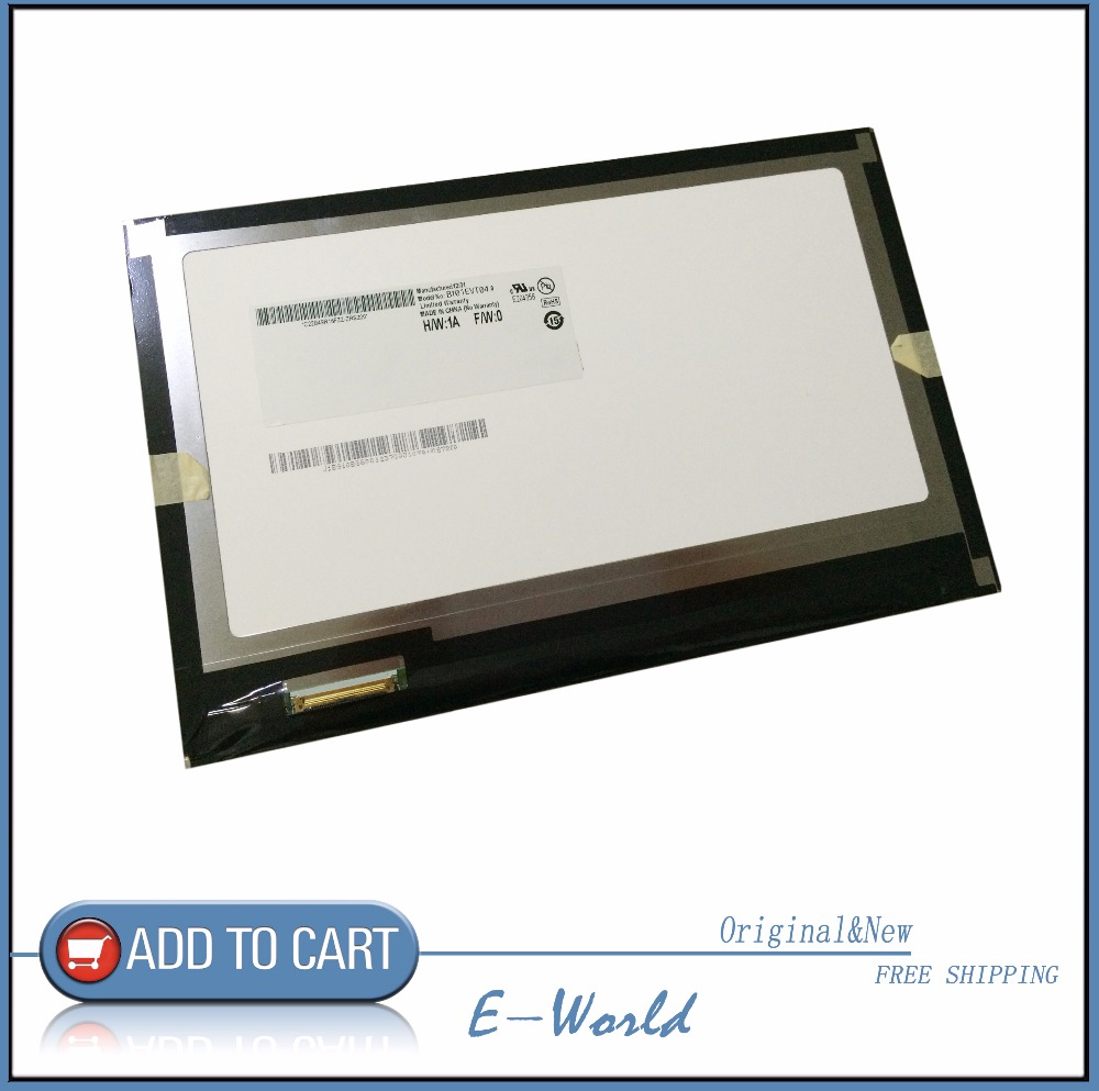 Original and New 10.1inch LCD screen B101EVT04.0 B101EVT04 for tablet pc free shipping original and new 8inch lcd screen claa080wq065 xg for tablet pc free shipping