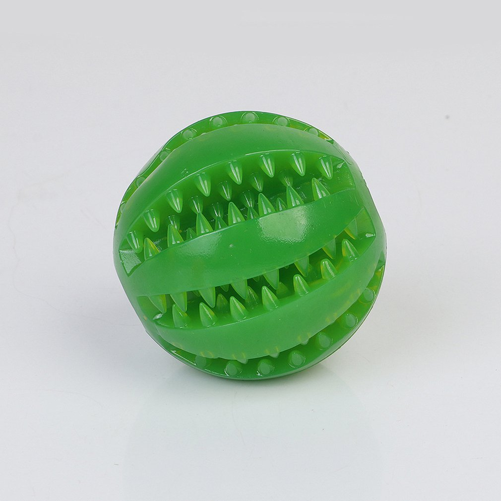 Creative Pet Toy Tpr Toy Ball Dog Cat Leaking Food Ball Non toxic And Tasteless Round Toy Ball Pet Supplies in Dog Toys from Home Garden