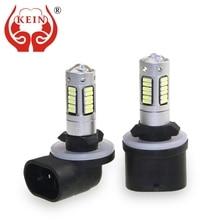 Car-Lights DRL Fog-Bulb Led-Lamp Car-Day-Driving 881 H27 880 12V KEIN 2pcs 4014 Daytime