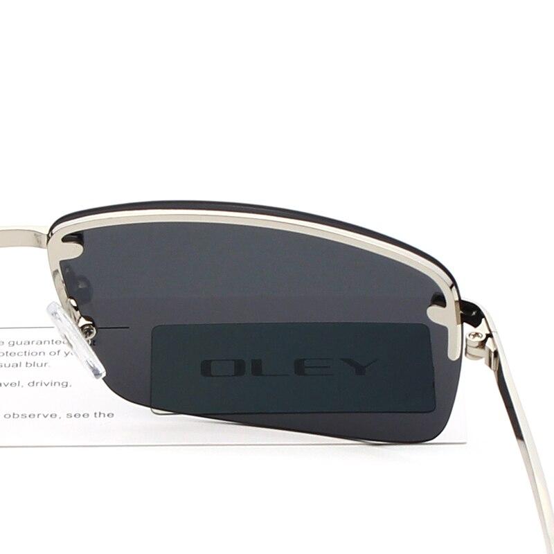 b0c2b62a427 ... OLEY Brands Men s Rectangular Frameless Polarized Sunglasses UV400  Mirror Male Sun Glasses Women For Men Oculos ...