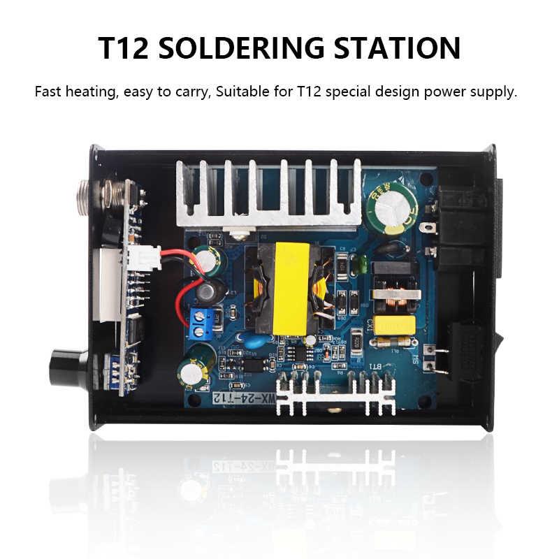 Station de soudure T12 Station de soudure infrarouge Station de reprise portative de Bga avec des outils de soudure de pointes de soudure