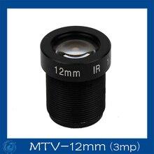 3mp 12mm  cctv board camera lens Board Fixed F2.0 Lens .MTV-12mm(3mp)
