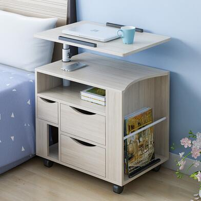 Can Move Up And Down To Rotate Bedside Table Multi