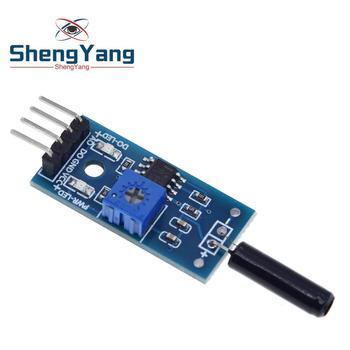 Módulo Sensor de vibración ShengYang, normalmente abierto, tipo SW18010P, módulo de sensor de alarma para Arduino