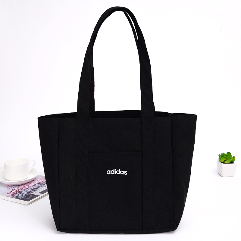 New Hot Environmental Tote Handbags Canvas Tote Bags Reusable Cotton Grocery High Capacity Shopping Bag