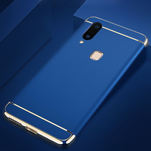 For Huawei Enjoy 6s 8 Plus Case 3 in 1 Full Body Hard PC Back Cover for Plating Frame Ultra Thin Coque