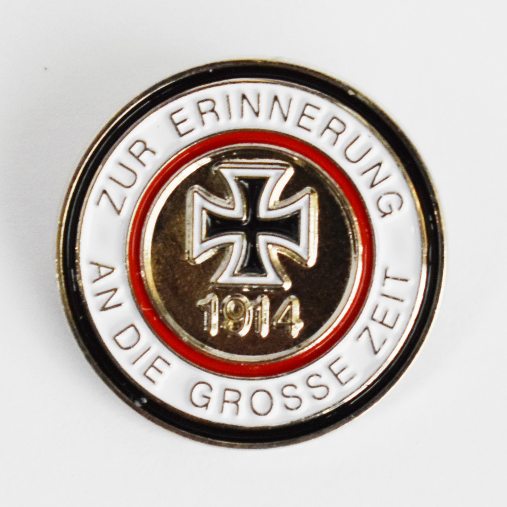 Germany 1914 Erinnerung Iron Cross Lapel Pin Badge-50060