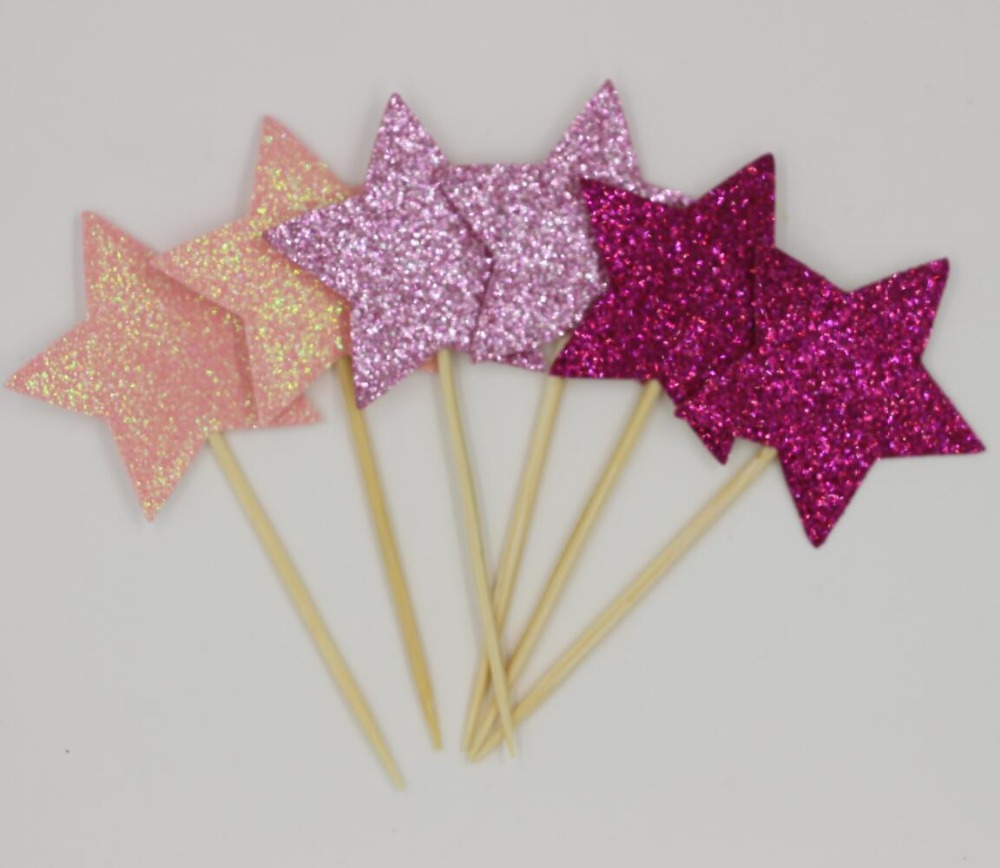 36pieces/lot) Twinkle Twinkle Theme Party Pick Hawaiian Party with ...