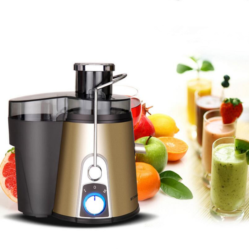 New Large Mouth Slow Juicer German Motor Technology Fruit Vegetable Citrus Low Speed Juice Extractor Free