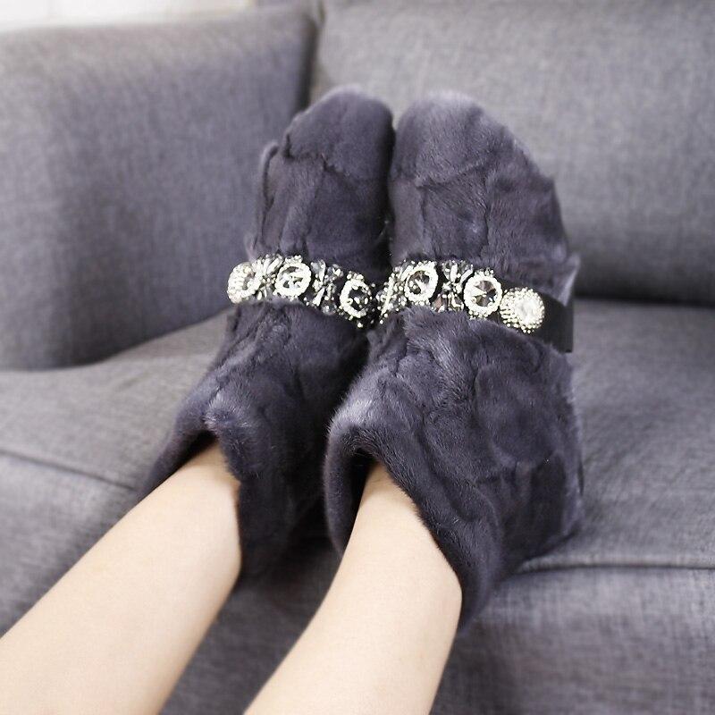 Moda Zapatos Tobillo gris Las Lujo Caliente Negro Tacón Piel 2018 camel Invierno Plano De Mujer Botas Nieve Mujeres Nuevo Otoño verde qxaISpAOw