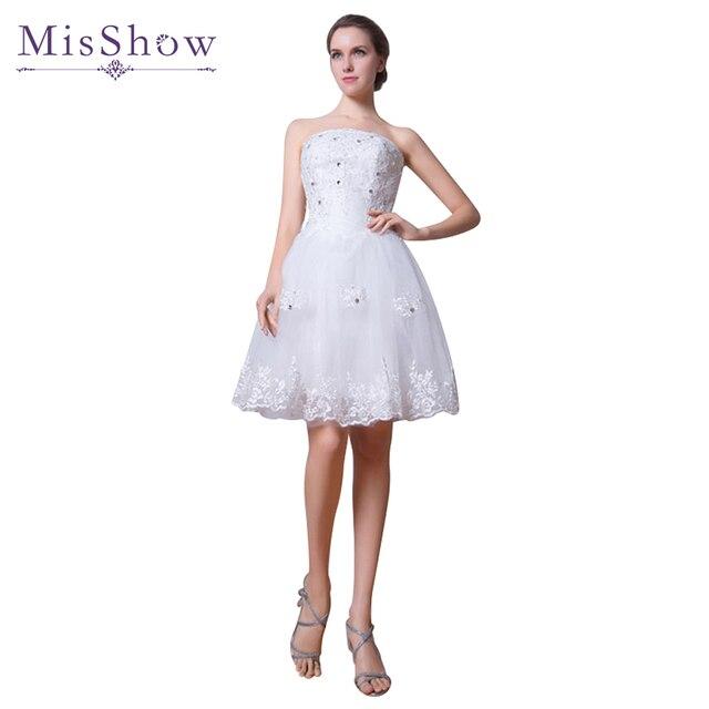 Hermosa Vestido De Novia Corto De Marfil Ideas Ornamento Elaboración ...