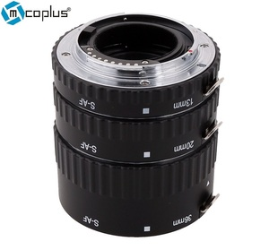 Mcoplus S-AF-A Extension Tube Metal Auto Focus AF as Meike Macro Ring Set for Sony A77 A200 A300 A350 A550 A500 A580 A850 A900