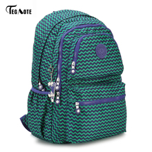 TEGAOTE Laptop Backpack College Student Large Capacity Computer Backpacks For Teens Nylon
