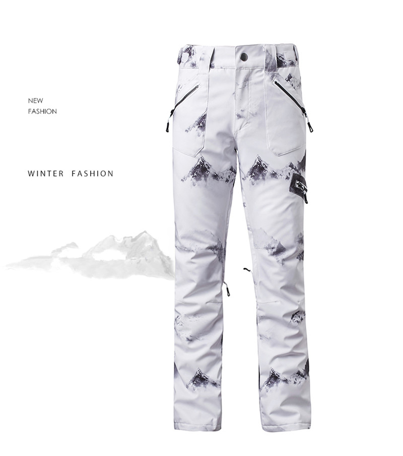 GSOU SNOW Brand Ski Pants Women Skiing Snowboarding Pants Female ... e4df0d21f