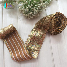 3f95fdf43b3c5 Buy sequin stripe lace and get free shipping on AliExpress.com