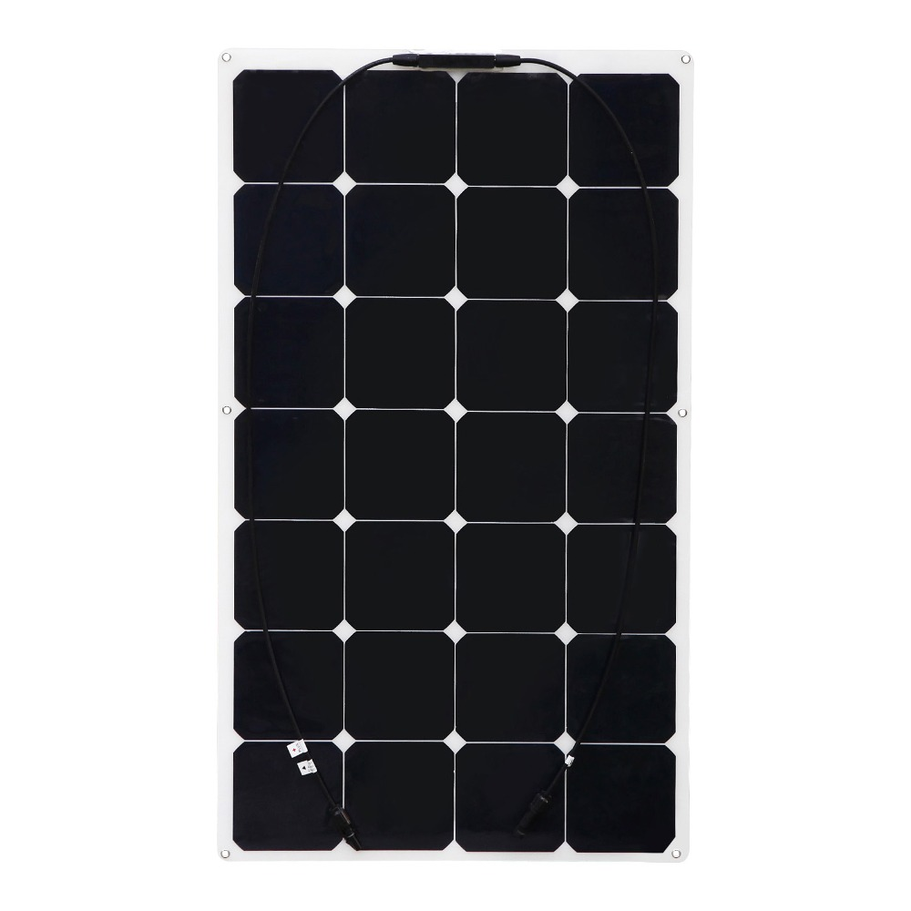 цена на BOGUANG 90w flexible solar panel solar cell module RV solar module for home car RV boat yacht 12V battery charger