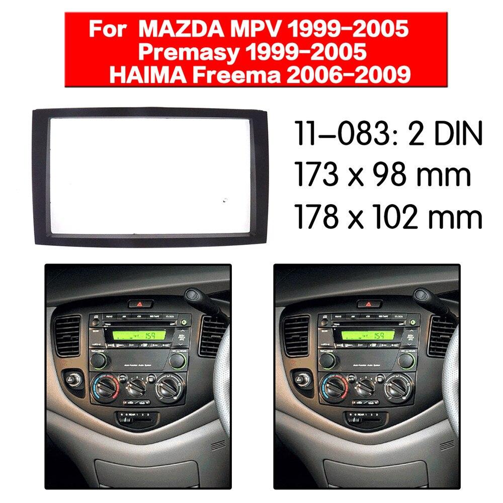 Автомобильный стерео dash kit радио CD плеер установка крепление для Freema 2006-2009/MAZDA MPV; Premasy 2-DIN 11-083
