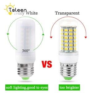 Image 5 - TSLEEN 1PC nouvelle lampe à LED de maïs E27 E14 GU10 G9 B22 7W 9W 12W 15W 20W 25W lumière Led AC 220V Led ampoule lustre lumière projecteur