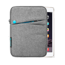 Soft Nylon 7.9 Inch Tablet Sleeve Pouch Bag for Apple iPad Mini 4 Mini 1/2/3 Funda Case Cover Capa Para for Xiaomi Mipad 2+ Pen totoro soft neoprene sleeve bag case cover pouch w strap for samsung galaxy tab tablet pc 9 7 for apple ipad 4 3 2 1