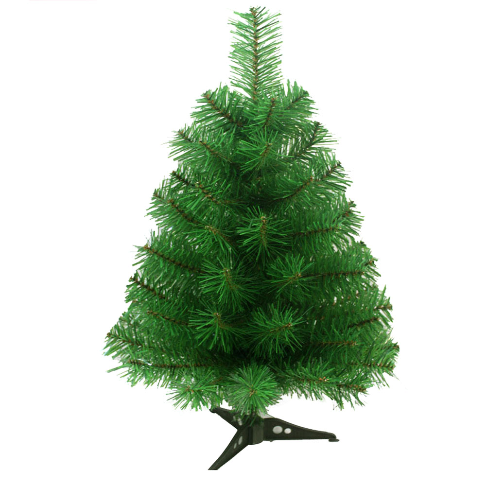 60cm Artificial Christmas Tree with Plastic Stand Holder ...