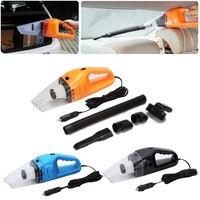 Car Vacuum 12V 150W Auto Vacuum Cleaner 6 In 1 Handheld Vacuums With 5m Power Cord