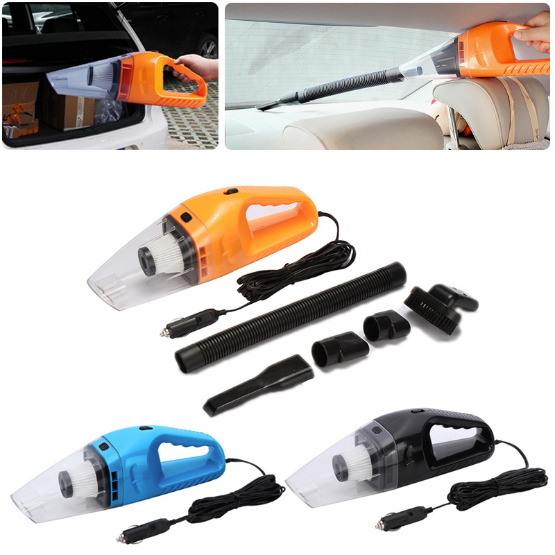 Newest Car Styling Vacuum 12V Auto Vacuum Cleaner 6 in 1 Handheld Vacuums with 5m Power Cord CSL2018