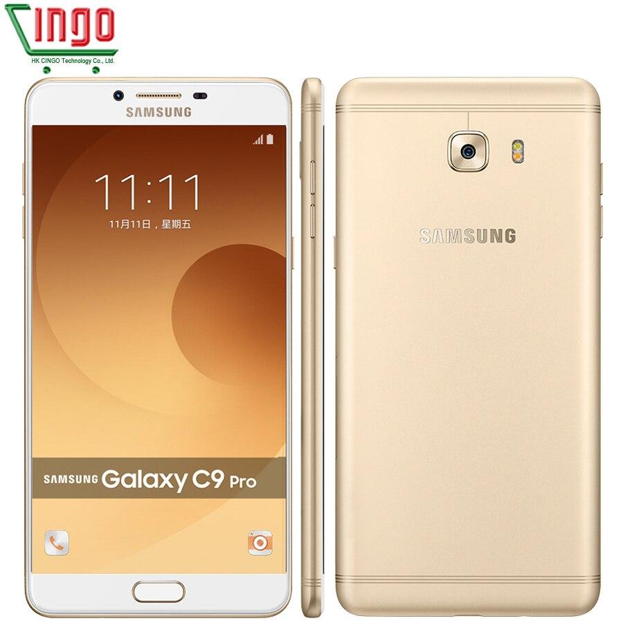 bilder für Original Samsung Galaxy C9 Pro C9000 6 GB RAM 64 GB ROM LTE octa-core Android6.0 16MP Kamera 6''inch 4000 mAh Batteriezelle telefon