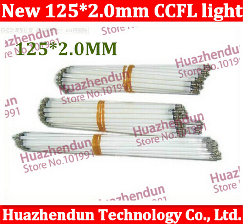 HK POSTFree ship 100pcs/lot Free shipping Supper Light CCFL 125 mm * 2.0 mm LCD Backlight Lamp tube 125mm