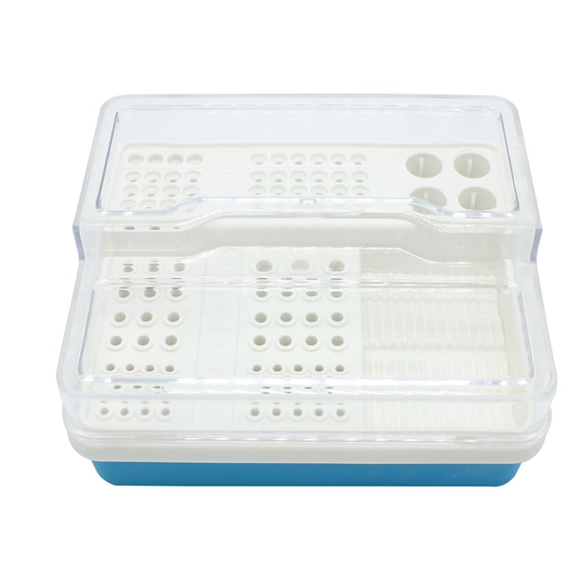 Dental Endo Box Endodontics Disinfection Storage Organization For RA FG 91Holes + 4Holes + 1Pan Oral Hygiene Teeth Tools