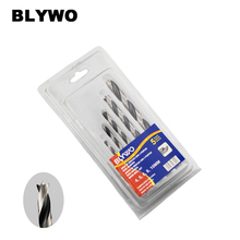 5pcs High Speed Steel Straight Shank Twist Drill Bit  for wood working