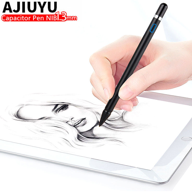 Active Pen Stylus Touch Screen Pen For iPad 9.7 inch New 2017 Air 2 1 ipad Air2 Tablet Capacitive Pencil Case Pen High precision active pen capacitive touch screen for teclast tbook 10s t10 p80h 98 octa x10 x98 hp elite x2 g1 g2 tablet stylus pen nib1 4mm