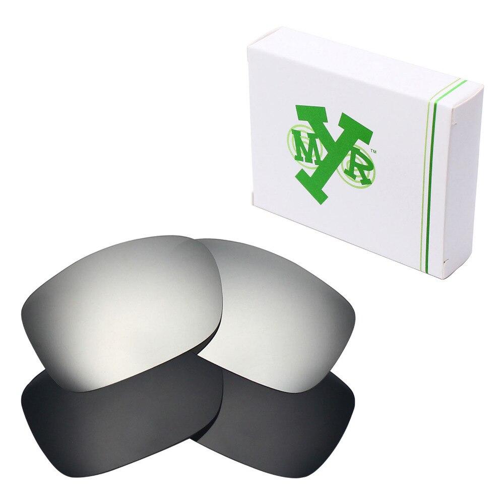 2 pares de lentes de repuesto polarizadas Mryok para-gafas de sol de dos caras de Oakley de titanio negro y plata 60 unidades de tiras de placa de aluminio Universal con retroiluminación LED de 32 pulgadas SVA75DA03 para Samsung/para LG para Sharp TV 9-LEDs 630mm 3v